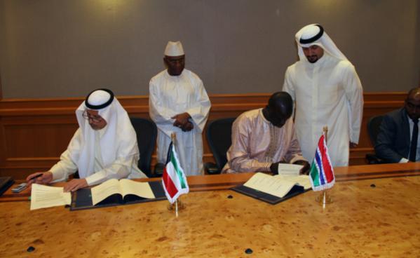 Energie : Le fonds koweïtien et la Gambie signent un accord pour un projet d'interconnexion