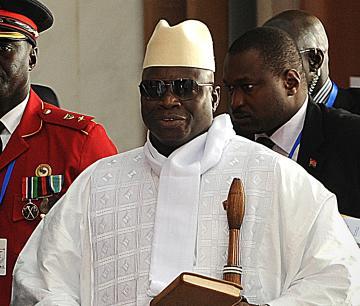Gambie – Manifestations ce jeudi à Banjul : Le président Jammeh écourte son séjour en Turquie