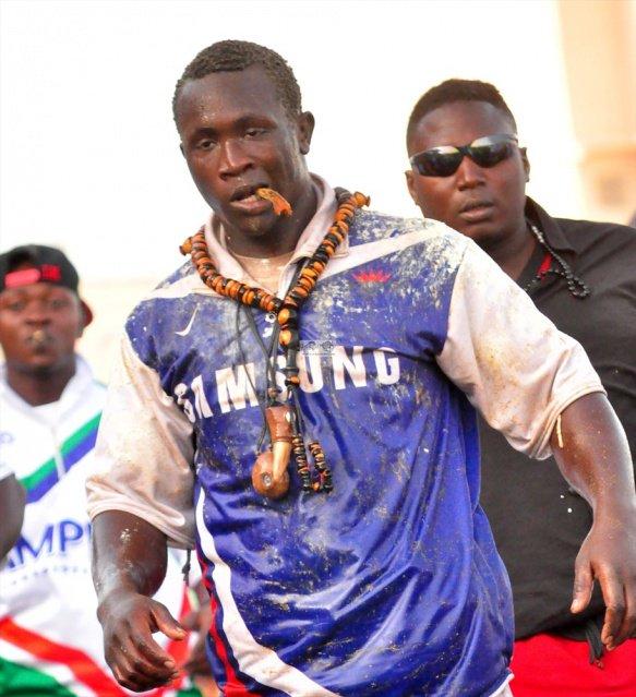 Le lutteur Modou Anta arrêté à la suite d'une bagarre