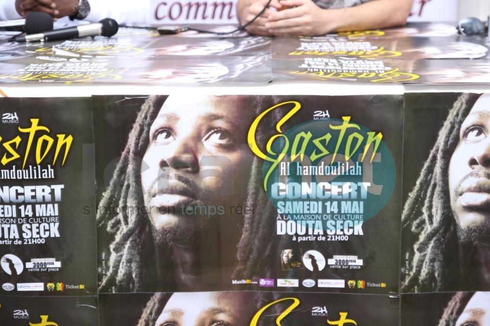 En images la présentation du nouvel album de Gaston alias Baye Sen, intitulé « Alhamdoulilah »