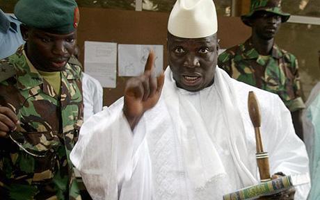 """Yaya Jammeh après les événements  de Banjul - """"Nous ne laisserons pas la sécurité nationale de la Gambie entre les mains de chiens"""""""