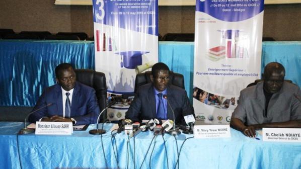 """Mary Teuw Niane : « Notre pays dispose d'un système éducatif performant et compte parmi les meilleures universités en Afrique de l'Ouest"""""""
