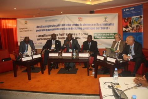 Symposium sous régional sur les stratégies locales de lutte contre la violence et la criminalité : Les collectivités locales portent le combat