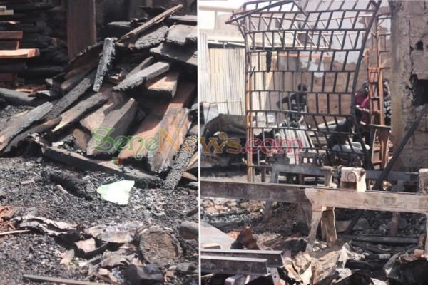 Incendie au Parc Lambay de Pikine: le cri de cœur des victimes