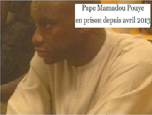 Pape Mamadou Pouye transféré au Camp pénal