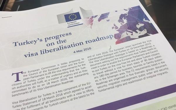 La Commission européenne accepte sous conditions d'exempter les Turcs de visa
