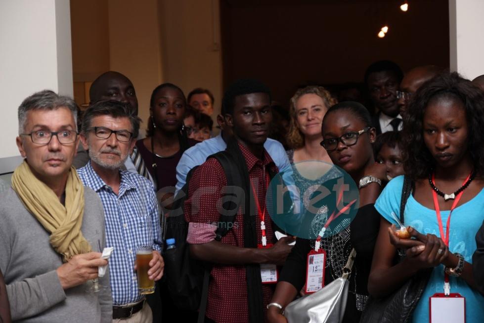 Les images du vernissage à l'Allianz Sénégal