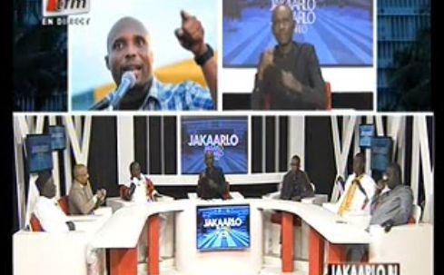 Vidéo: Barthélémy Dias ridiculise en direct un représentant du gouvernent