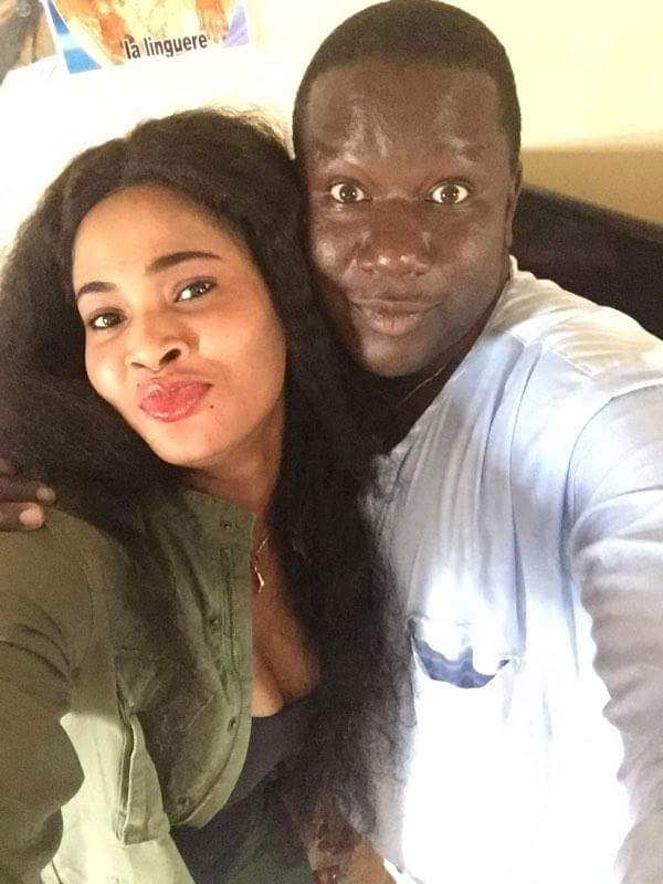 Instant selfie avec Soumboulou, Mère Dial, Daro et Ibrahima Mbaye Sopé