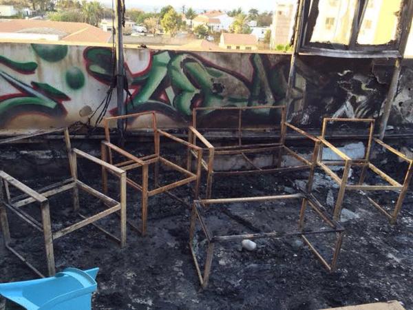 Grave incendie à l'incubateur d'entreprise de Thione Niang à Ngor (IMAGES)