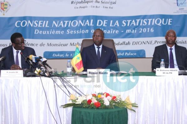 Deuxième session du Conseil national de la statistique : Pour avoir des données fiables, le PM invite les ministres à collaborer avec l'Ansd