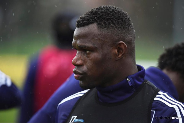 Anderlecht : Stéphane Badji victime d'insultes racistes