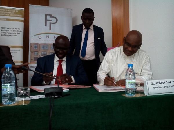 Signature de convention entre l'Onfp et Sabodola Gold Opération : Pour une formation professionnelle et qualifiante du personnel de l'entreprise