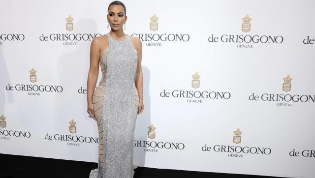 Festival de cannes 2016 : Kim Kardashian très sexy en robe moulante à la soirée de Grisogono