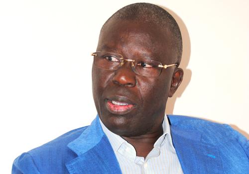 """Babacar Gaye: """"Nous attendons d'être saisis sur le contenu du dialogue"""""""