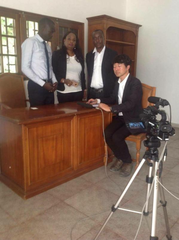 Affaire Lamine Diack : La télévision japonaise NHK à Dakar pour entendre le Forum du justiciable et l'OCDI
