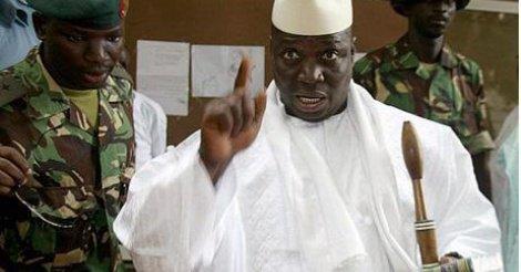 """Yahya Jammeh menace son opposition et l'Occident : """"Je vous enterre dans un trou de neuf pieds..."""""""