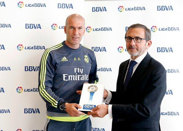 Real Madrid : Zidane élu entraineur du mois d'avril