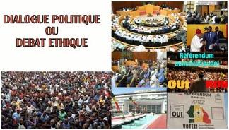 Dialogue politique ou débat d'éthique ? - Par Nioxor Tine