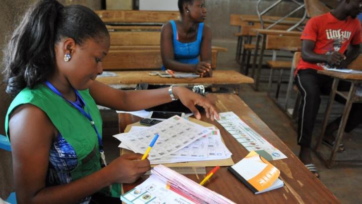 Elections municipales au Burkina Faso : faible affluence dans les bureaux de vote