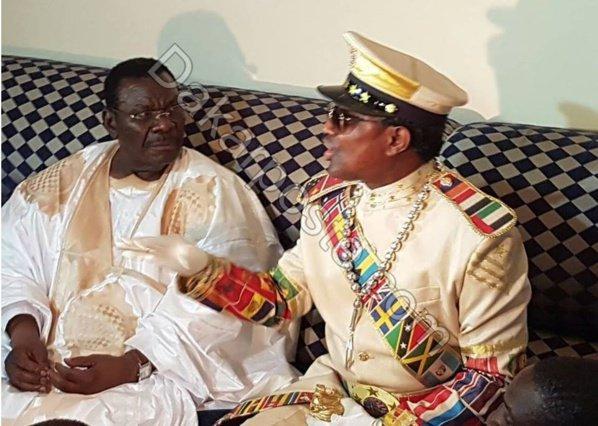 Kara et Cheikh Béthio Thioune se rencontrent au Magal de Darou Mousty