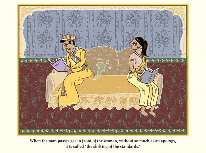 Ce Kama Sutra très spécial sur la vie sexuelle après le mariage est à mourir de rire : vous allez en apprendre, des choses !