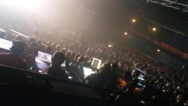 Concert de Fada Freddy : Le Zénith de Paris plein à craquer