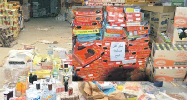 Saisie d'une importante quantité de produits alimentaires (Gendarmerie)