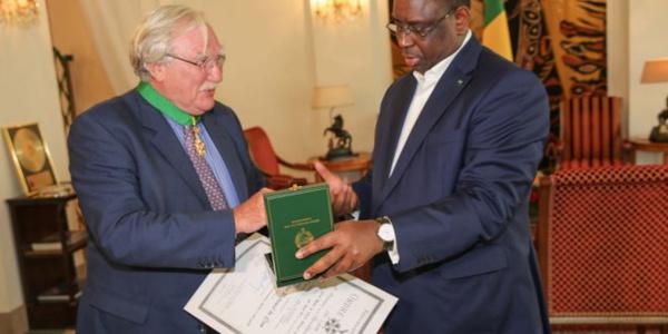Jean Félix Paganon a fait ses adieux au Président Macky Sall