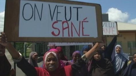 Les partisans de Sané manifestent pour sa libération