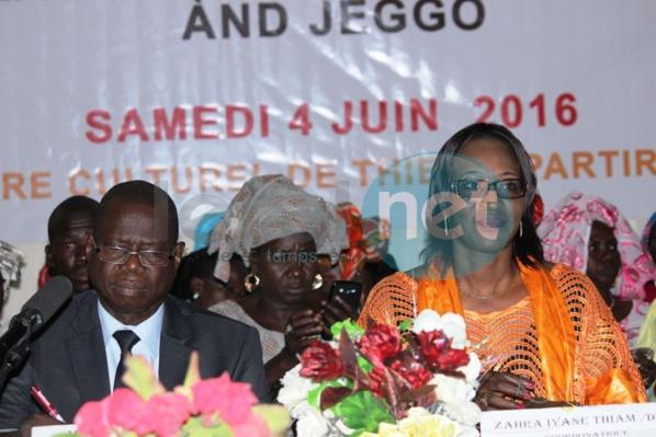 Augustin Tine aux femmes de la plateforme « And Jéggo » : « Un pays ne peut être développé sans vous »