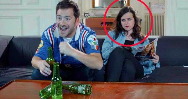 Les filles, on a la solution pour que vous viviez bien la période de l'Euro avec votre mec : regardez cette vidéo !