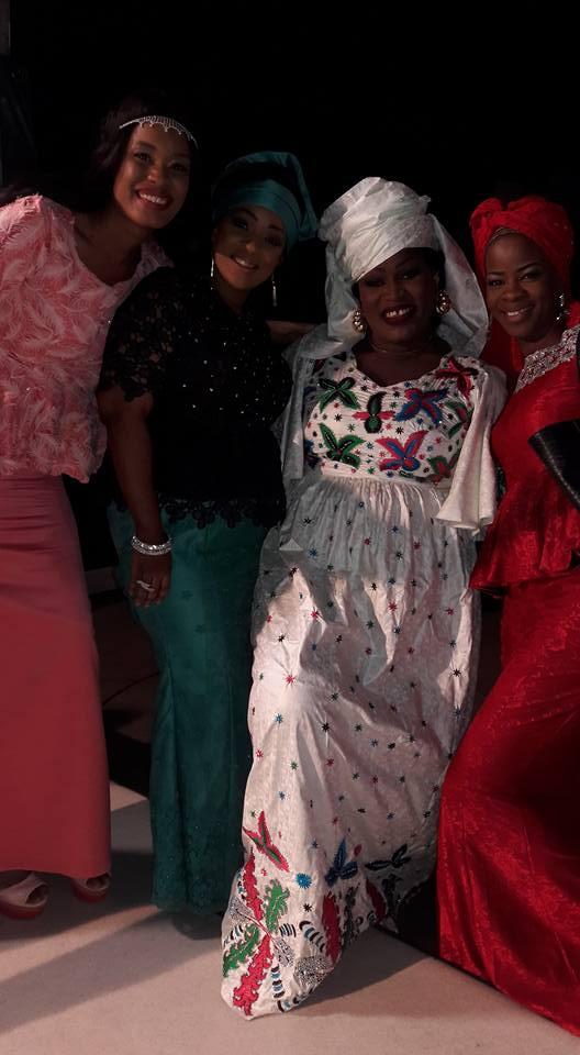 Ndèye Ndack, Mado et Alphie toutes élégantes en compagnie de Ngoné Ndiaye Guéwel