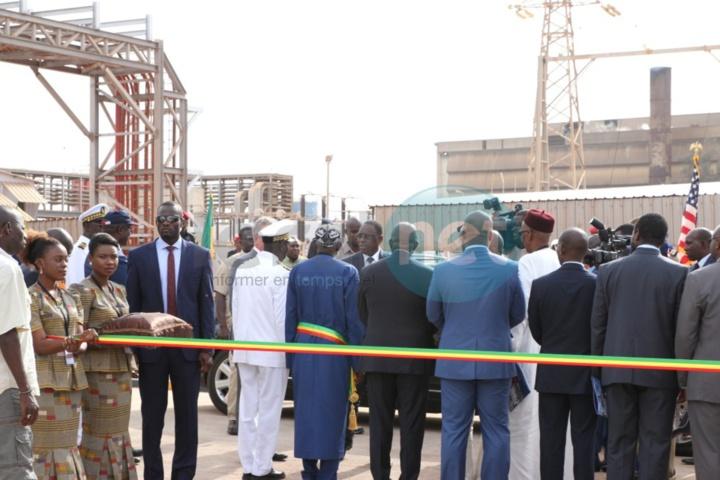 """Macky Sall réceptionne la centrale électrique """"Contour Global Cap des Biches"""""""
