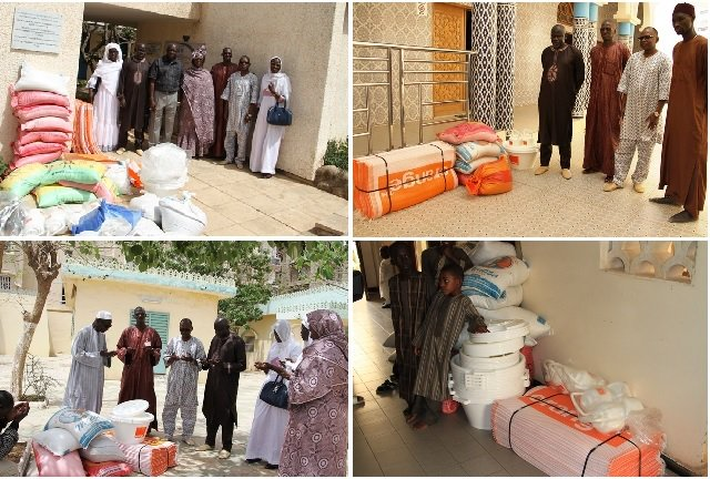 Ramadan : La Sonatel distribue des vivres dans les mosquées et les orphelinats de Dakar