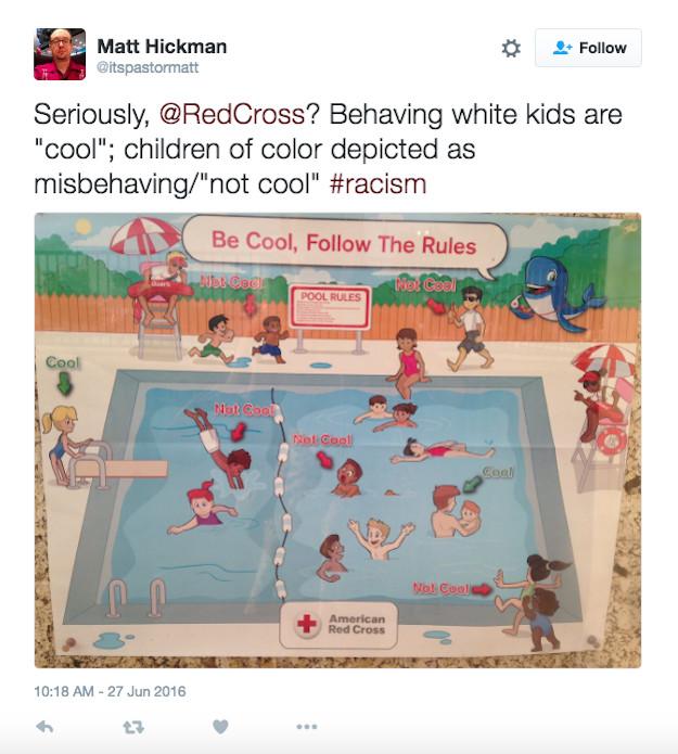 Une affiche de la Croix-Rouge américaine dénoncée pour son racisme