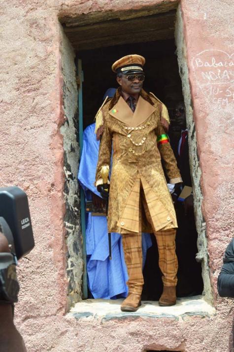 """Visite symbolique de Cheikh Modou Kara sur l'île de Gorée : """"Un moment très fort"""""""