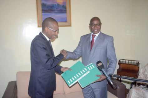Cheikh Thiam et  Racine Talla  , des médias au service du Peuple sénégalais.