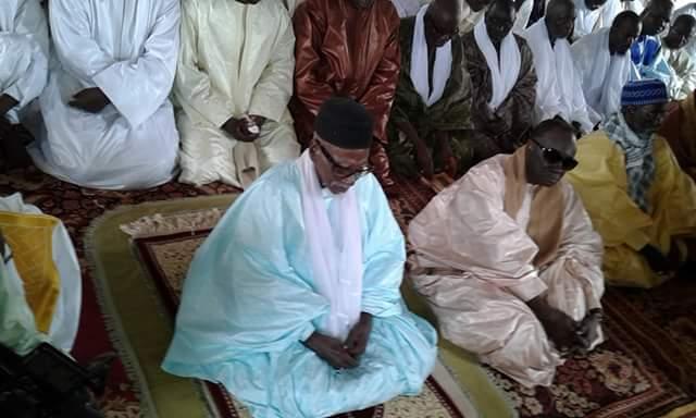Les images de la célébration de l'Aid El Fitr à la grande mosquée de Touba en présence du Khalif général des Mourides