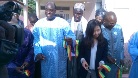 Keur N'diaye Lô:  Le Maire ouvre un Centre secondaire d'état civil et distribue des charrettes pour la gestion des ordures