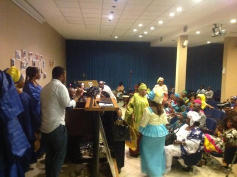 """Photos - Journée """"Sargal"""" Mme Oumy Sène en Italie : le Pds de Brescia satisfait de la libération de Karim Wade"""