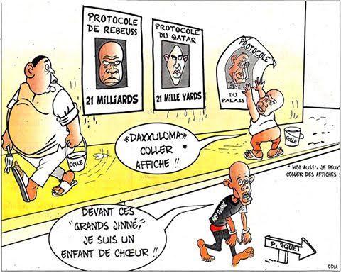 Boy Djinné, Protocoles Reubess et Doha : Odia explique