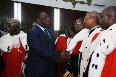 Présidence du Conseil supérieur de magistrature :  Les magistrats récusent Macky Sall