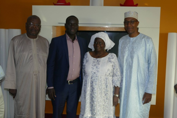 Photos - Visite de courtoisie : Abdoul Mbaye était chez Malick Gackou