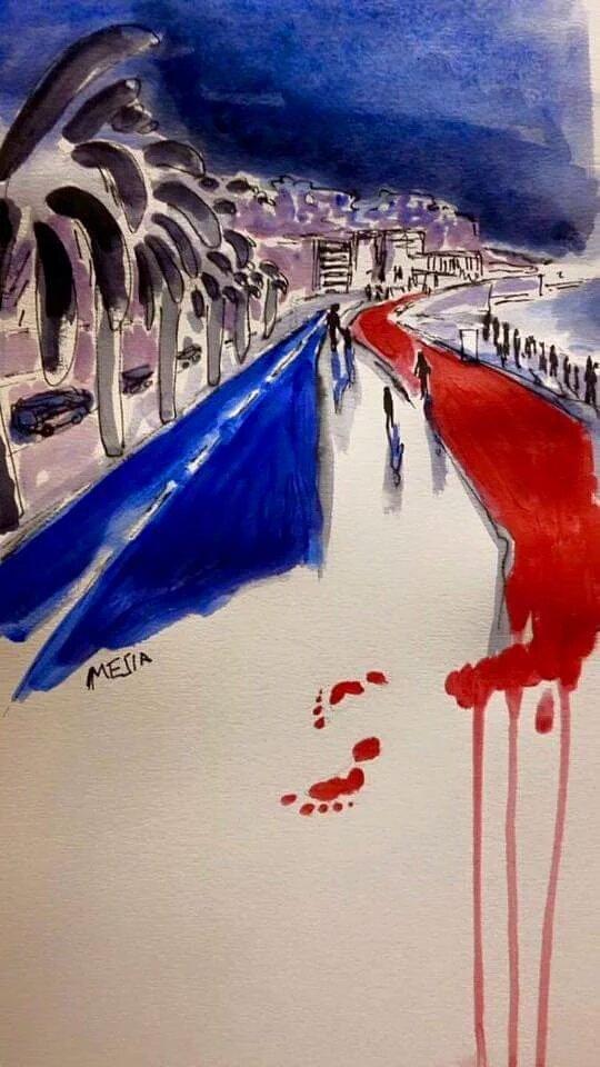 35 réactions sur Twitter après l'attaque violente survenu à Nice cette nuit #PrayForNice