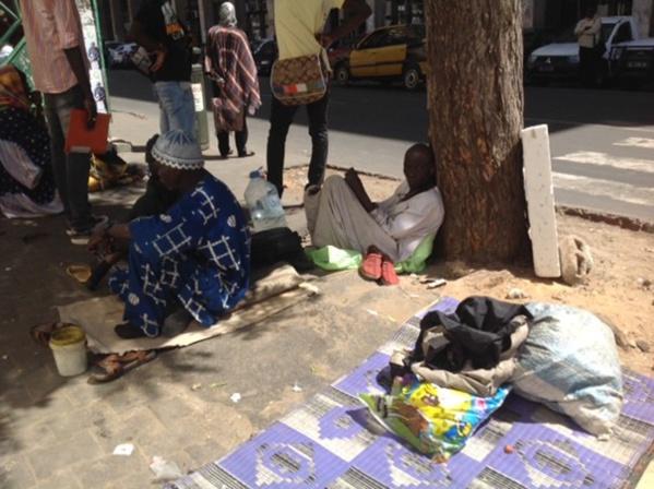 Après les enfants, l'Etat retire les vieux de la rue
