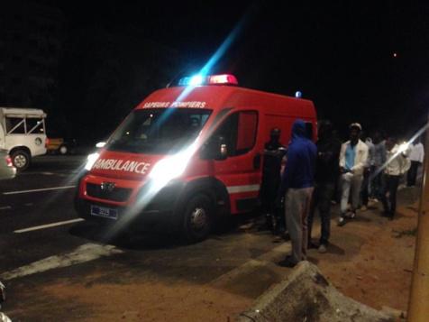 Encore un accident à hauteur de l'école Mariama Niasse : Un véhicule de police et un taxi se retrouvent dans le décor