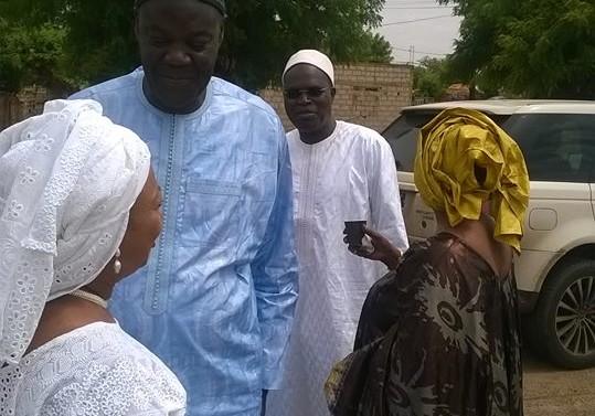 Serigne Abdou Karim Mbacké à la délégation de Taxawu Dakar: «C'est mon père qui a prié pour Senghor. Je ferais la même chose pour Khalifa Sall»