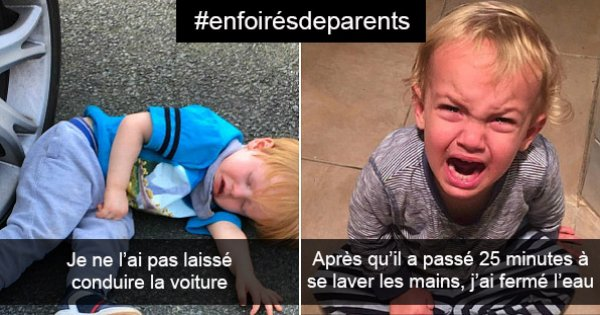 20 photos qui prouvent que les enfants n'ont besoin d'aucune raison pour détester leurs parents !
