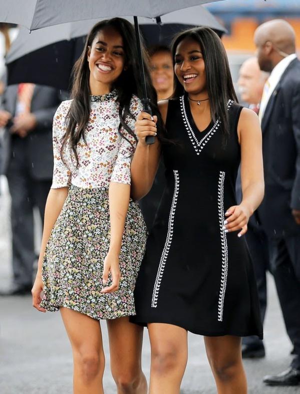 Sasha et Malia Obama imposent leur style